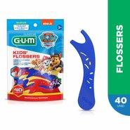 Fio Dental Flosser Gum Patrulha Canina 40 Unidades
