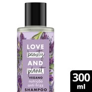 Shampoo Love Beauty And Planet Smooth And Serene Óleo De Argan & Lavanda 300ml