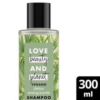 Shampoo Love Beauty And Planet Energizing Detox Óleo De Melaleuca & Vetiver 300ml