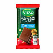 Chocolate Vitao Cereais Zero 30g