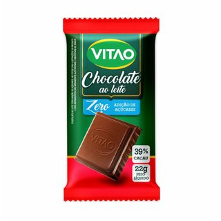 Chocolate Vitao Ao Leite Zero 22g