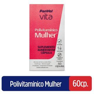 Polivitamínico Mulher Panvel Vita 60 Cápsulas