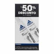 Desodorante Aerossol Adidas Invisible Feminino 2x150ml+50% De Desconto Na Segunda Unidade