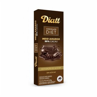 Chocolate Diatt Meio Amargo 25g