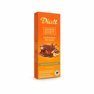 Chocolate Diatt Castanha De Caju 25g