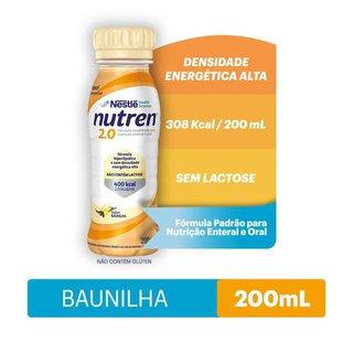 Suplemento Alimentar Nutren 2.0 Baunilha 200ml