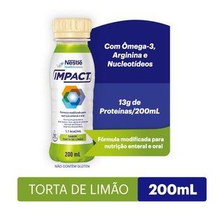 Suplemento Alimentar Impact Torta Limão 200ml