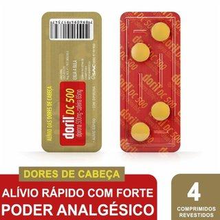Doril Dc 500 4 Comprimidos  Avulso