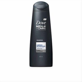 Shampoo Dove Men Limpeza Refrescante 400ml