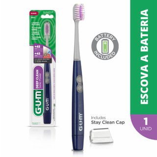Escova A Bateria Gum Activital Sonic Deep Clean