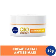 Creme Dia Antissinais Nivea Q10 Plus C 51g