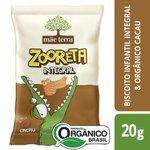 Biscoito Doce Mãe Terra Zooreta Cacau 20g