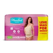 Roupa Íntima Feminina Plenitud Femme P/m Leve 16 Pague Com 15 Unidades