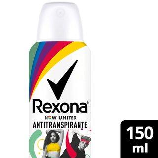 Desodorante Aerosol Rexona Now United 90g