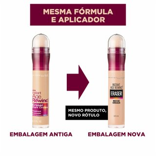 Corretivo Maybelline Eraser Dark Circles Light