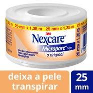 Fita Micropore Bege Nexcare. Rolo De 25mm X 1,35m