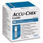 Tiras Reagentes Accu-Chek Guide Com 50 Unidades