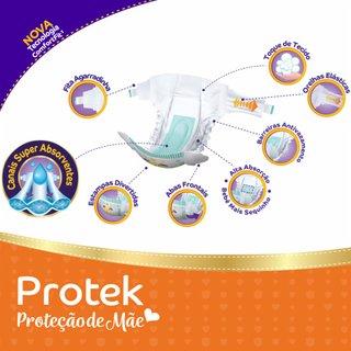 Fralda Pom Pom Protek Proteção De Mãe Mega Xg Com 36 Unidades