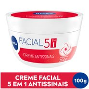 Creme Facial Antissinais Nivea 100g