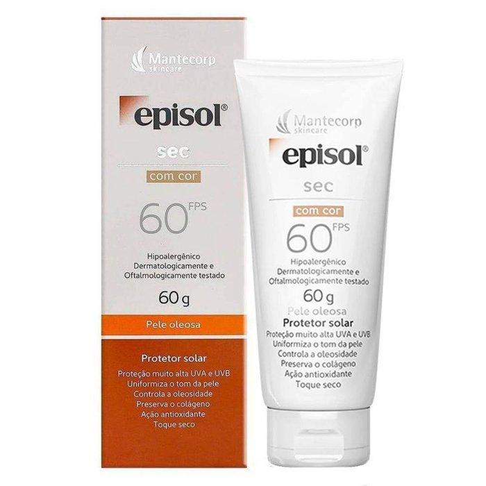 Protetor Solar Episol Sec Com Cor Fps 60 60g - PanVel Farmácias 1d8556a4c9