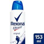 Desodorante Para Pes Rexona Efficient Aerosol 153ml