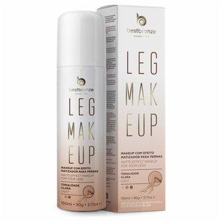 Leg Makeup Best Bronze Spray Claro 150ml