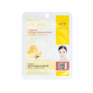 Máscara Facial Dermal Colágeno Com Vitamina C 23g