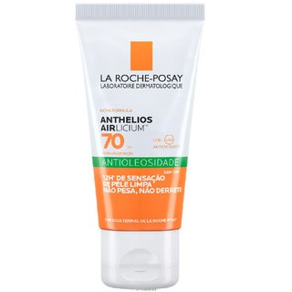 Protetor Solar La Roche Posay Anthelios Airlicium Antioleosidade Fps70 50g