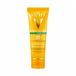 Protetor Solar Vichy Ideal Soleil Antiacne Fps30 40g