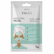 Mascara Facial De Argila Verde Esfoliante Panvel Faces 10g