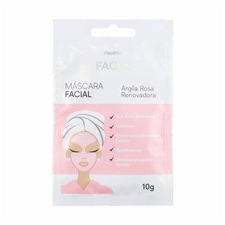 Máscara Facial De Argila Rosa Renovadora Panvel Faces 10g