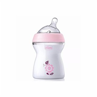 Mamadeira Chicco Step Up 250ml Rosa +2m