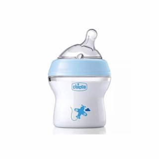 Mamadeira Chicco Step Up 150ml Azul 0m+