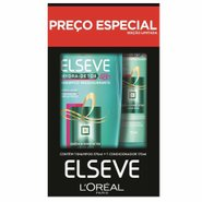 Kit Elseve Hydra Detox Shampoo 375ml + Condicionador 170ml