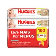 Lencos Umedecidas Huggies Pure Care Leve 4 Pague 3