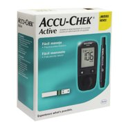 Kit Monitor De Glicemia Accu-chek Active