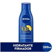 Loção Hidratante Firmadora Nivea Q10 + Vitamina C 200ml