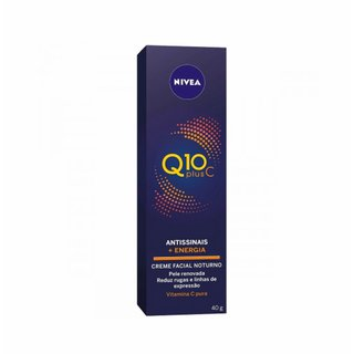 Creme Facial Antissinais Noite Nivea Q10 Plus C 40ml