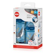Kit Mamadeira Nuk My First 150ml Tam1 + 300ml Tam2 Boy