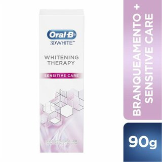 Creme Dental Oral-b 3d White Whitening Therapy Sensitive Care 90g