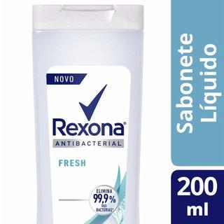 Sabonete Líquido Rexona Antibacteriano Fresh 200ml