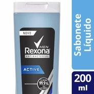 Sabonete Liquido Rexona  Active 200ml