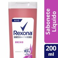Sabonete Líquido Rexona Orchid Fresh 200ml