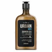 Shampoo Urban Men Ipa Beer 3em1 240ml