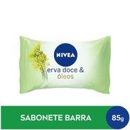Sabonete Barra Nivea Hidratante Erva Doce 85g