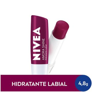 Protetor Labial Nivea Amora Shine 4,8g