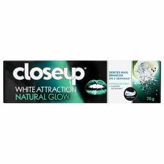 Creme Dental Closeup White Attraction Natural Glow 70g