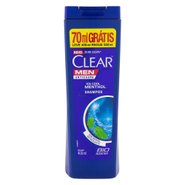 Shampoo Anticaspa Clear Men Ice Cool Menthol Leve 400ml Pague 330ml