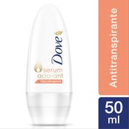 Desodorante Roll On Dove Aclarant Hipoalergenico 50ml