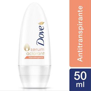Desodorante Roll On Dove Aclarant Hipoalergenico 50ml